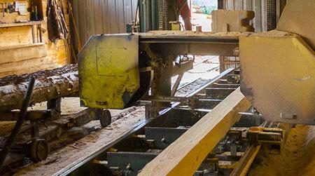 A wood machin
